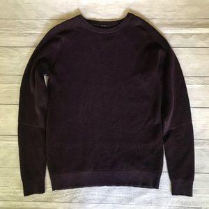 Lululemon Simply Wool Crew Sweater Black Cherry